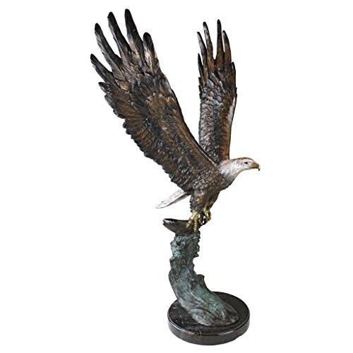 Cast Bronze Eagle - 9