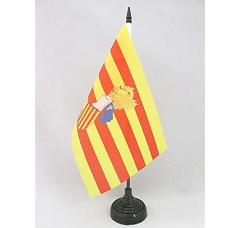 AZ FLAG Bandera de Mesa del Consejo del PAÍS Valenciano 21x14cm - BANDERINA de DESPACHO Antigua Comunidad Valenciana - Valencia 14 x 21 cm: Amazon.es: Hogar