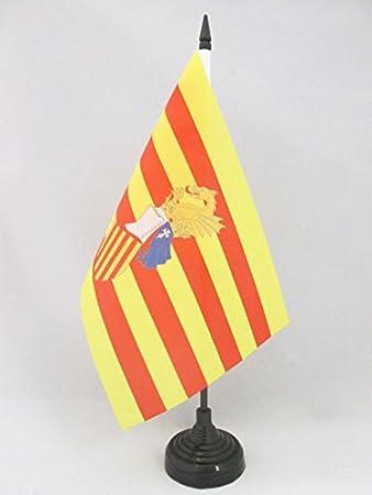 AZ FLAG Bandera de Mesa del Consejo del PAÍS Valenciano 21x14cm ...