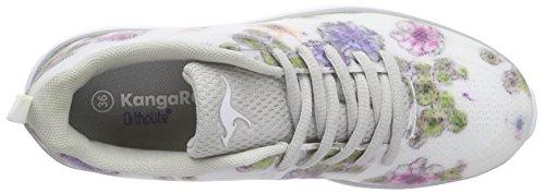 KangaROOS K- Light 8003 - zapatilla deportiva de material sintético unisex Weiß