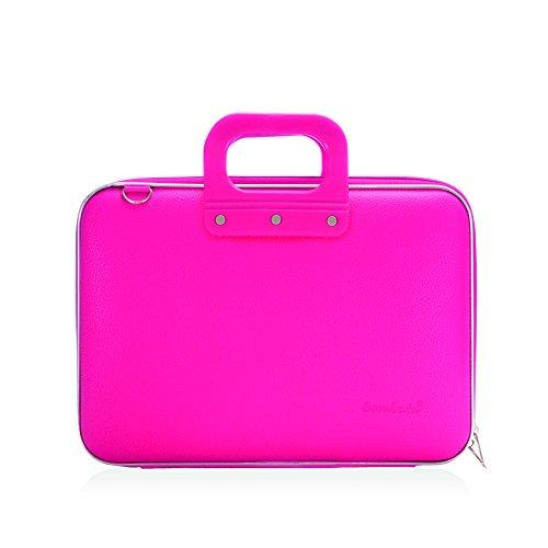 bombata-medio-briefcase-13-inch-pink