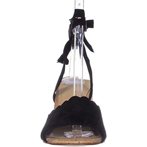 Piya2 Sandalen schwarz Damen schwarze Marc Velourslederoptik Fisher B0x1AwO