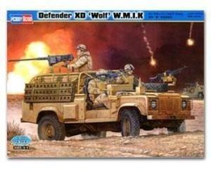 Hobbyboss Hbb82446 1:35 - Land Rover Defender Xd Wolf Wmik Plastic Model Kit