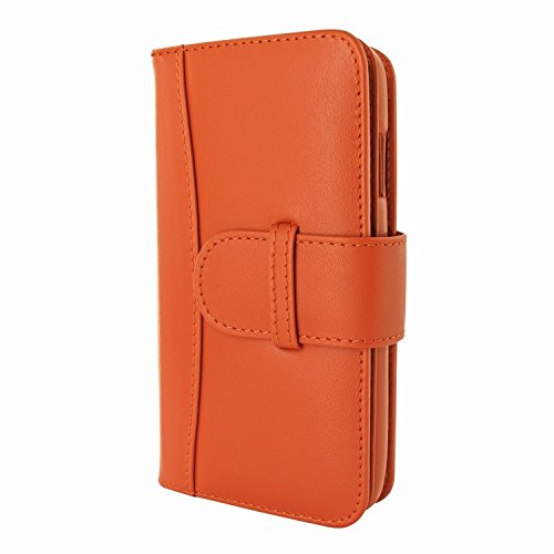 Piel Frama 717 Orange WalletMagnum Leather Case for Apple iPhone 6 Plus / 6S Plus by Piel Frama (Image #1)
