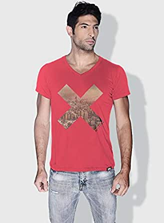 Creo Beirut X City Love T-Shirts For Men - S, Pink