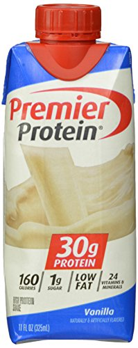 Premier Nutrition High Protein Shake, Vanilla,  11 oz.,18 Count