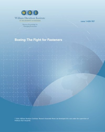 Boeing:: The Fight for Fasteners