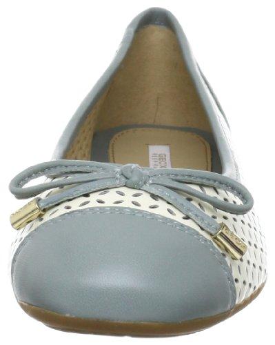 Lola Geox femme Ballerines Blanc E C1409 zFw8FHpq