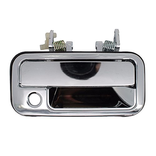 Outside Door Handle - Front Right Passenger Exterior - Chrome