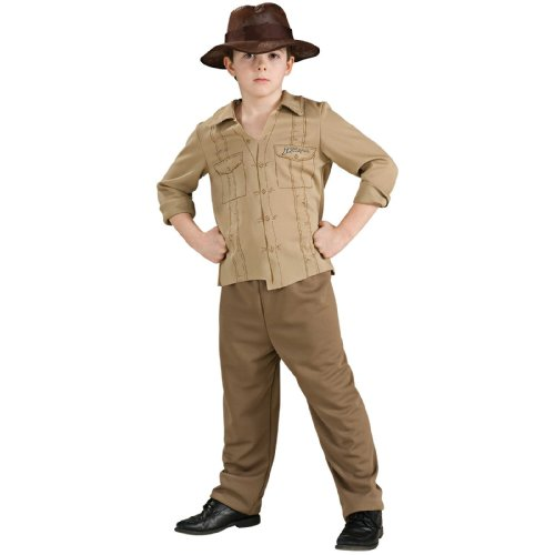 Indiana Jones Costume - Large (Indiana Halloween Costume Jones)