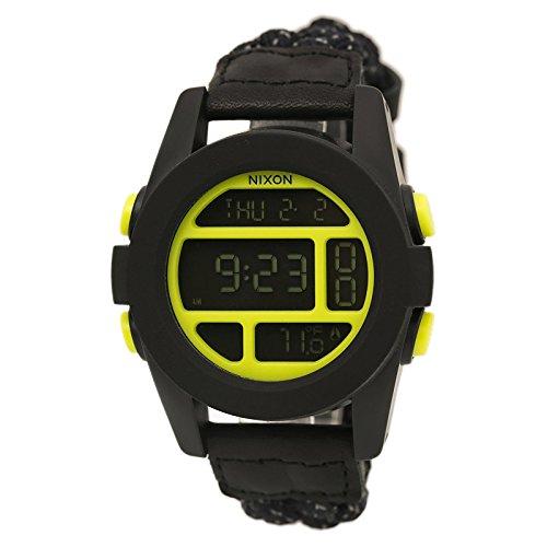 nixon unit watch black - 5