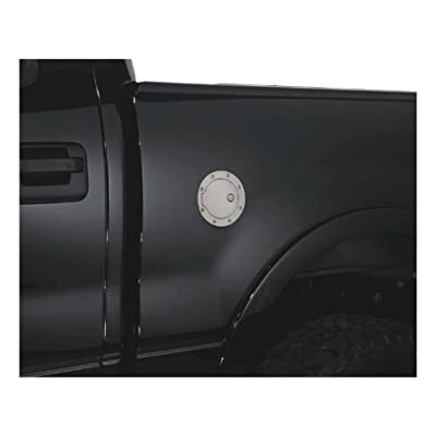 Bully GD-102CK Chrome Fuel Door with Lock: Automotive