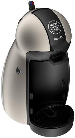 Nescafe Dolce Gusto by Krups KP1009 Piccolo Coffee Machine, Titanium