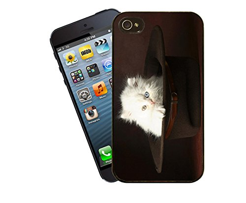 Katze 027 iPhone Fall - passen diese Abdeckung Apple Modell iPhone 5 / 5 s (nicht 5c) - von Eclipse-Geschenk-Ideen