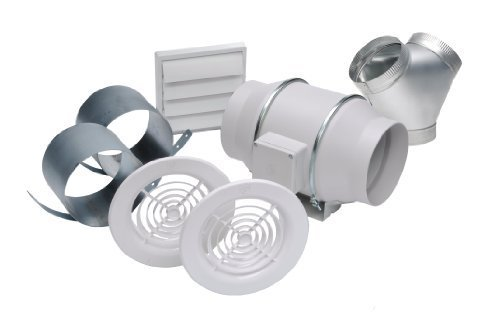 Soler & Palau KIT-TD150-DV In-line Exhaust Fan Dual Vent Kit by Soler and Palau