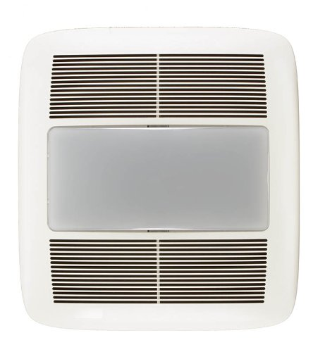 NuTone QTXEN080FLT Energy Star Qualified Fan with 36 Watt Fluorescent Light Bulb, 80 CFM 0.3 Sones (Nutone Shower Fan Light compare prices)