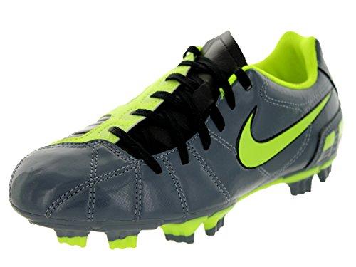 Nike Junior Total 90 Shoot III Fester Boden Fußballstiefel Blue Dusk/Volt