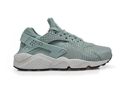Nike Womens Wmns Air Huarache Run Stampa Sneakers Cannone Puro Platino 006