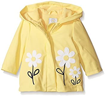 d431bf0d2e Gymboree Baby Yellow Raincoat with Daisy Applique, 12-24 Size: 12/24 ...