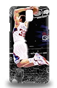 Galaxy Note 3 Hard Back With Bumper Silicone Gel Tpu 3D PC Case Cover NBA Los Angeles Clippers Blake Griffin #32 ( Custom Picture iPhone 6, iPhone 6 PLUS, iPhone 5, iPhone 5S, iPhone 5C, iPhone 4, iPhone 4S,Galaxy S6,Galaxy S5,Galaxy S4,Galaxy S3,Note 3,iPad Mini-Mini 2,iPad Air )