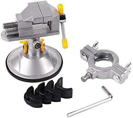 固定ブラケットチャック回転テーブル万力360クランプ調節可能なテーブル副合金修復ツール木ネジ局