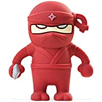 Bone Collection 16 GB Red Ninja Dual USB Drive (D14071R)