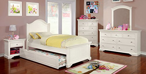 Youth Twin Panel Bed - 4
