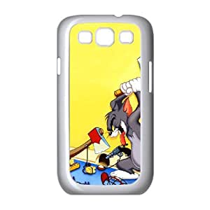 Tom and Jerry Samsung Galaxy S3 9300 Cell Phone Case White Vhre