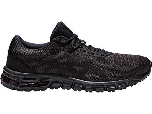 ASICS Men's Gel-Quantum 90 Running Shoes, 10.5M, Black/Black