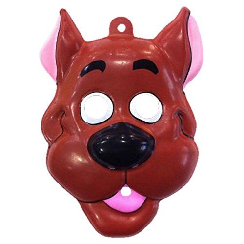 Scooby Mask Costume Accessory (Scooby Doo Fancy Dress Adults)