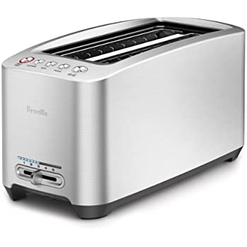 Breville BTA830XL Die-Cast 4-Slice Long Slot Smart Toaster