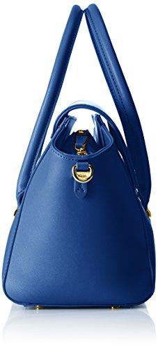 Trussardi 75b492xx53, Borsa a Mano Donna, 47x25x18 cm (W x H x L) Blu (Blue Royal)
