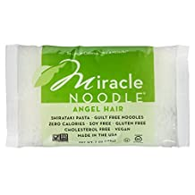 Miracle Noodle Pasta, Angel Hair, 7 Ounce - Pack of 6