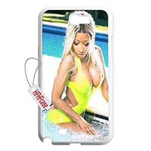 HFHFcase Customized Case for Samsung Galaxy Note2 N7100, Nicki Minaj Samsung Galaxy Note2 N7100 Cover Case