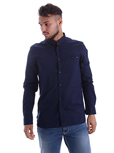 Gas 151151 Shirt Man Blue Xxl