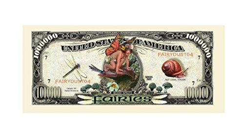 Set of 1000 - Fairies Million Dollar Bill by American Art Classics (Image #1)