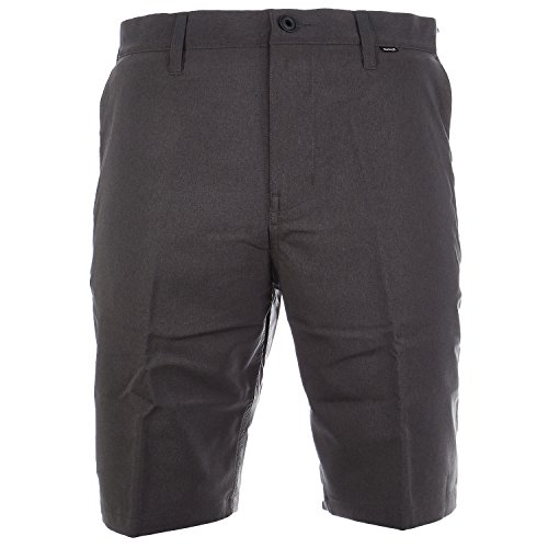 Hurley Dri-Fit Heather Chino Walkshort Casual Short - Black - Mens - 36 (Hurley Black Belt)