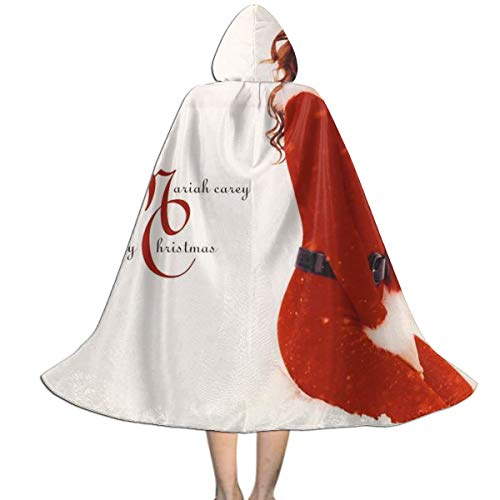 Mariah Carey Halloween (DorothyJDavis Mariah Carey Halloween Kids Cosplay Costumes Party Christmas Day Hooded Cloak)