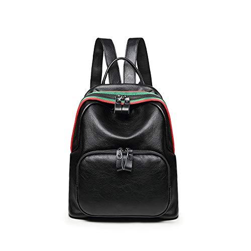 Pelle Daypack Per Ragazze Black Donne Studente Le Zaino In Borse Z8vqYxxCw