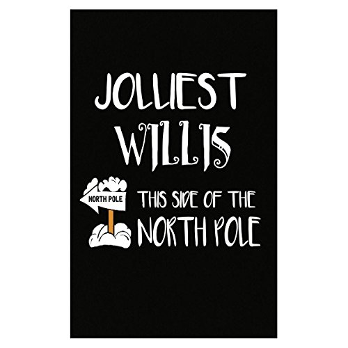 Jolliest Willis This Side The North Pole Christmas - Poster