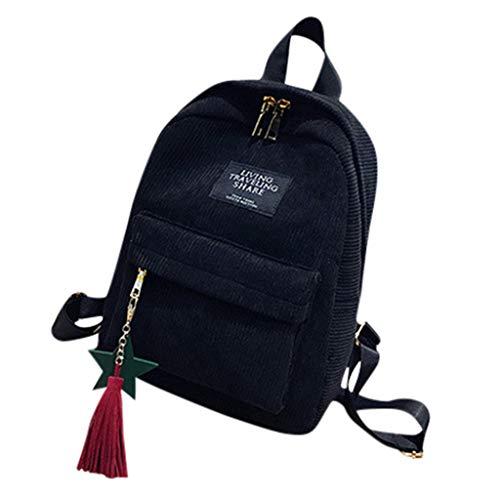 School Waterproof Backpack College Vintage Travel Bag for Women, Laptop for Student Campus Style Simple Leisure Backpacks ()