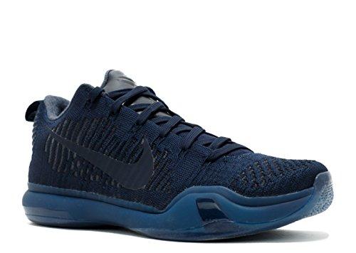 Nike Kobe 10 Elit Låg Ftb Dk Obsidian / Dk Obsidian