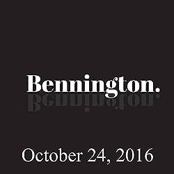 Bennington, October 24, 2016