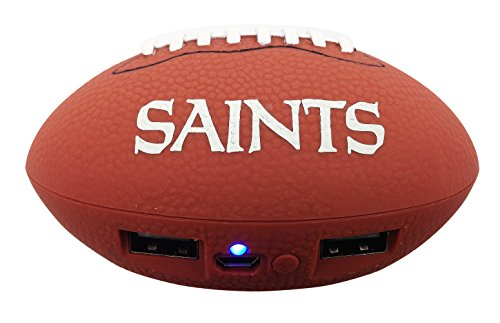 - UPI Marketing, Inc. NFL New Orleans Saints Phone Charger, One Size, Brown