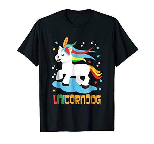 Unicorndog Mythical Creature |Funny Corn dog Unicorn T-Shirt ()