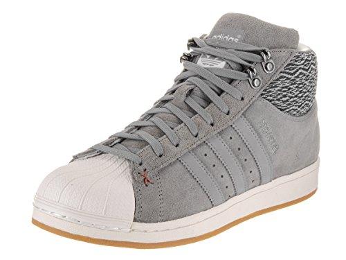Gris Baskets US 5 BT 9 Hommes Adidas Model Pro qPvzwz