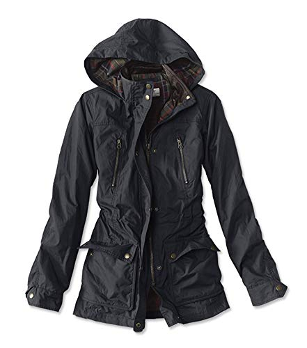 Orvis Women's River Road Waxed Cotton Jacket, Night Sky, X Small