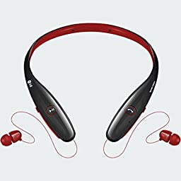 LG Electronics TONE HBS-900 INFINIM Bluetooth Stereo Headset - Red Black (Certified Refurbished)