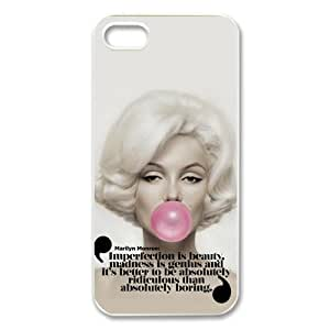 Fashion Style Marilyn Monroe Hardshell Carrying Case Cover for iPhone 5 5S (2)