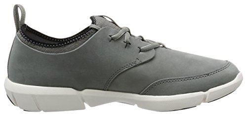 grey Clarks Form Da Ginnastica Triflow Uomo Grigio Basse Nubuck Scarpe fq8aAxrf